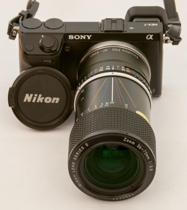 Nikon 36-72 E