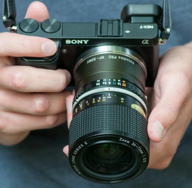 Nikon 36-72mm f/3.5 E
