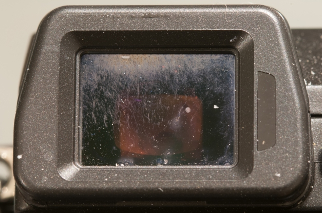 Dirty Viewfinder