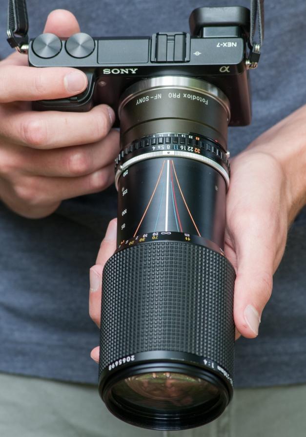 70-210mm f/4 E