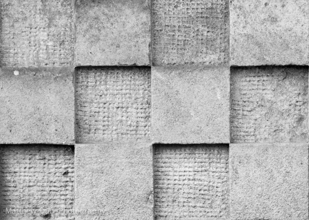 Checkered Concrete85mm, ISO 100, f/4, 1/400