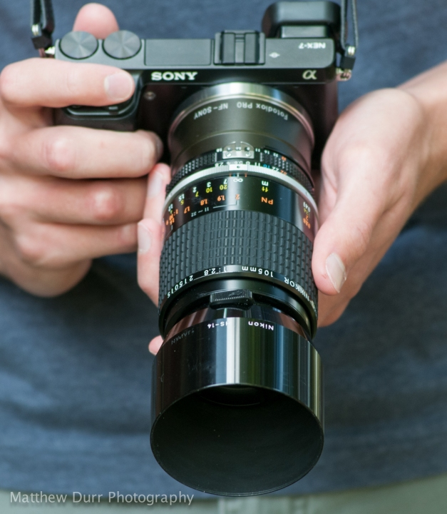 Nikon 105mm f/2.8 AI-s Micro