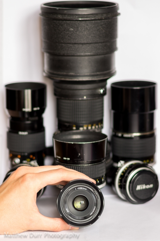 Choose Your Lens 100mm, ISO 100, f/2.8, .4 Seconds
