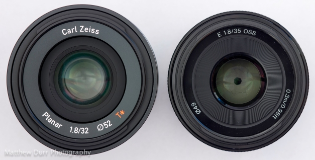 Zeiss 32mm vs Sony 35mm