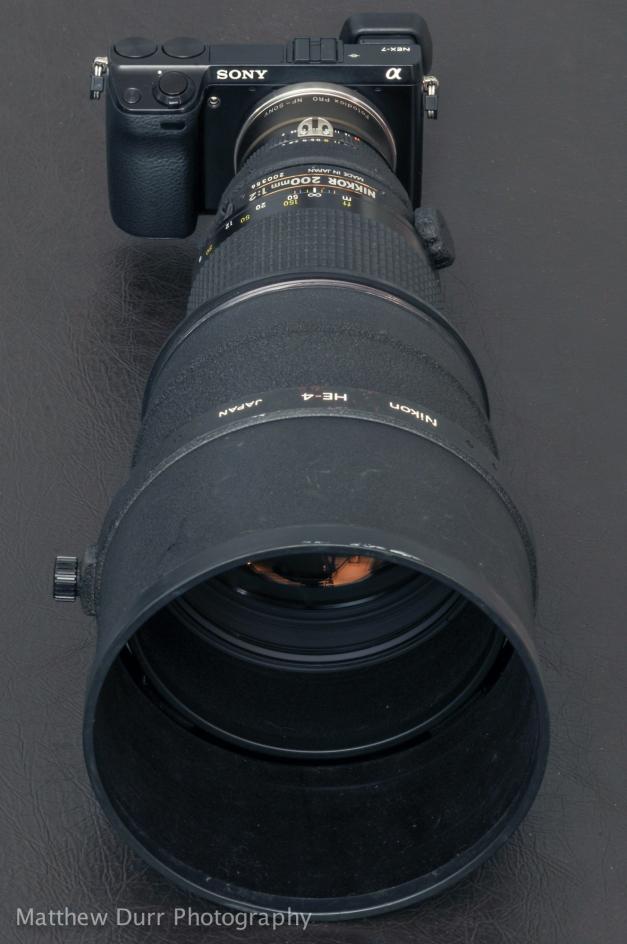 Nikon 200mm f/2 AI-s ED