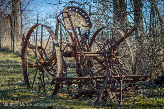 Rust in the Sun Nikon 50mm, ISO 100, f/4, 1/500