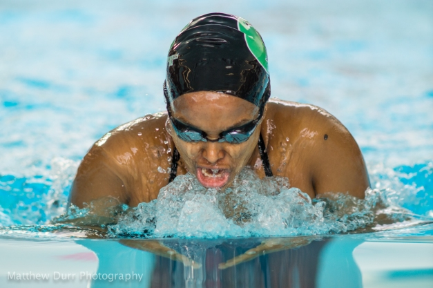Breaststroke Nikon 200mm, ISO 800, f/2, 1/500