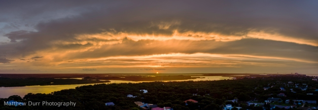Sunset Bands Zeiss 32mm, ISO 100, f/5.6, 1/125, 20 images stitched