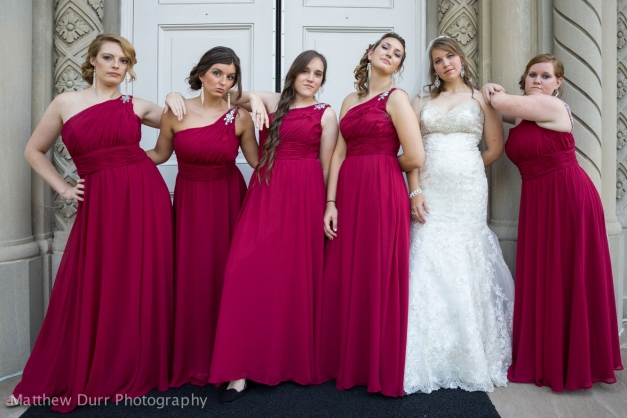 "The ""Bridesmaids"" Pose Rokinon 16mm, ISO 200, f/2, 1/250"