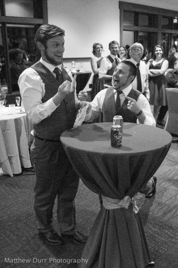 Best Man Reaction Rokinon 16mm, ISO 6400, f/2, 1/80