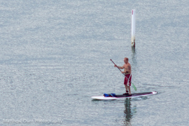 Lone Paddleboarder Nikon 200mm, ISO 100, f/4, 1/320
