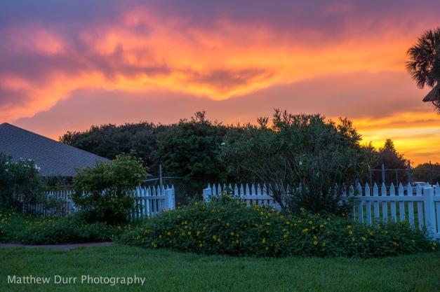 Sunset Garden Zeiss 32mm, ISO 100, f/2.8, 1/25