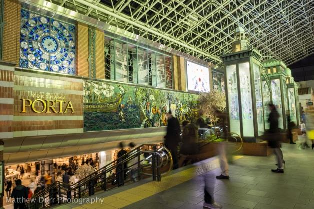 Yokohama Porta Entrance Rokinon 16mm f/2, ISO 100, f/2, 1/4