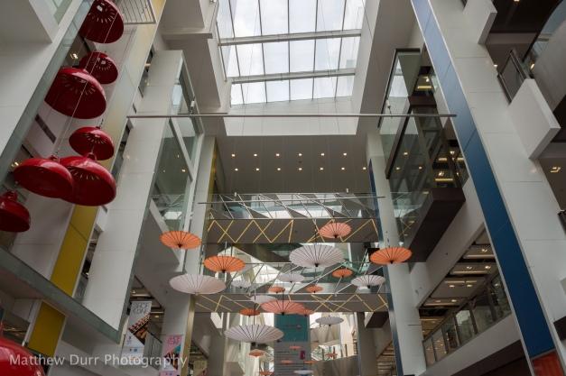 Clarke Quay Centre Interior 16mm, ISO 100, f/8, 1/160