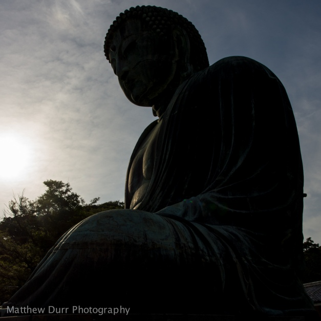 Buddha Half-Silhouette 16mm, ISO 100, f/5.6, 1/1600