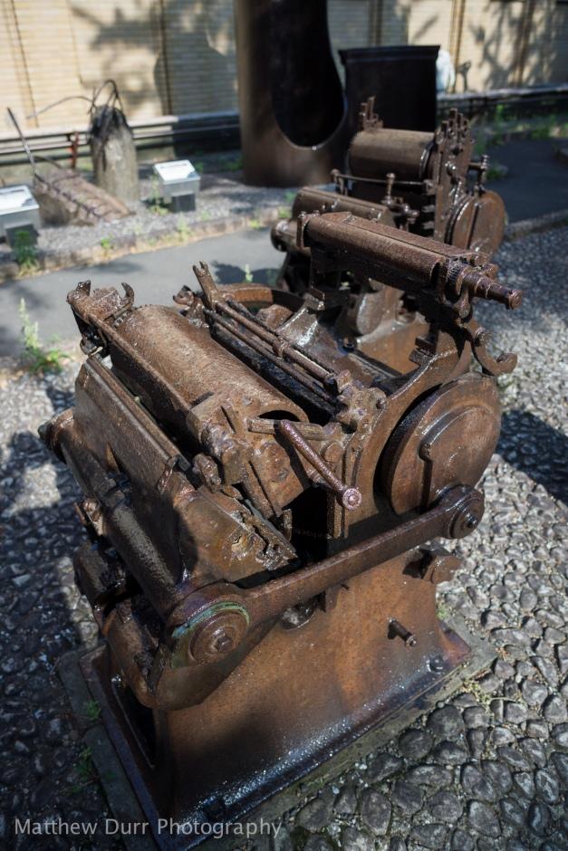 Burnt Newspaper Press 16mm, ISO 100, f/2, 1/1250