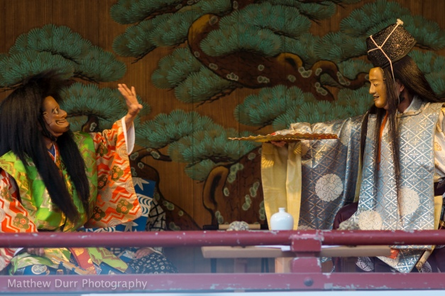 Noh Theater 105mm, ISO 100, f/2.8, 1/60