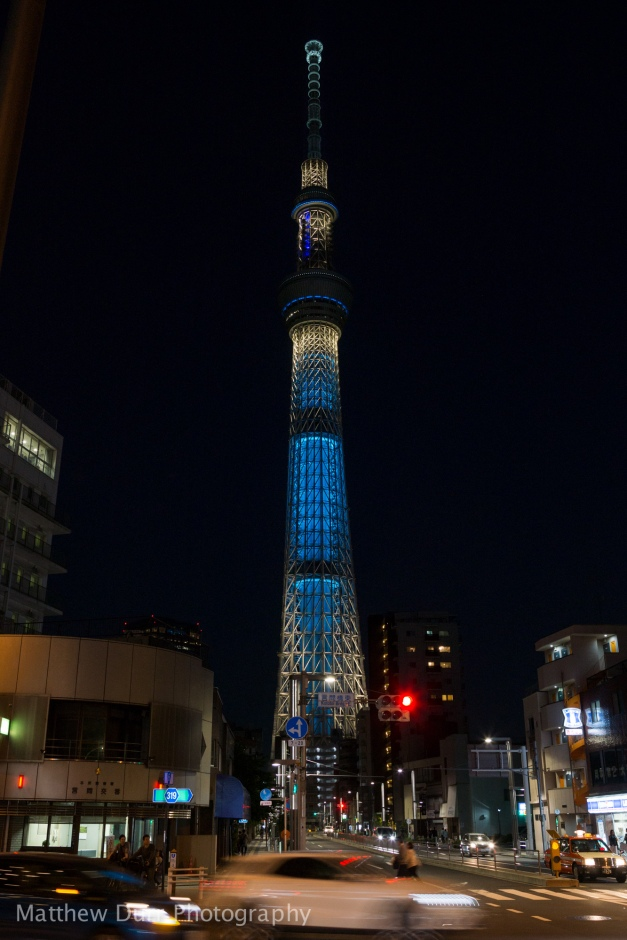 SkyTree Approach 16mm, ISO 400, f/5.6, 1/15