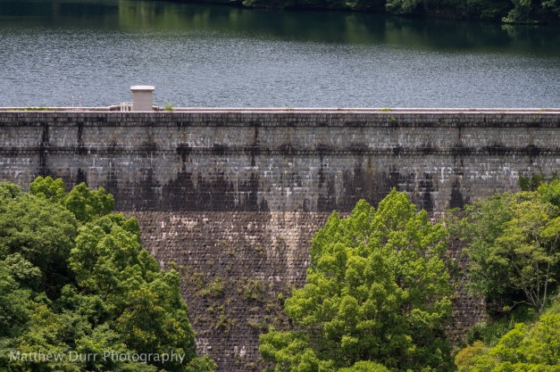Gohonmatsu Dam 105mm, ISO 100, f/5.6, 1/400