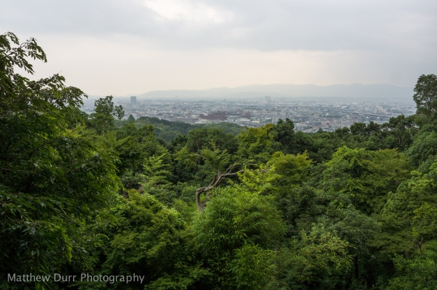 Kyoto Overlook 16mm, ISO 100, f/5.6, 1/160