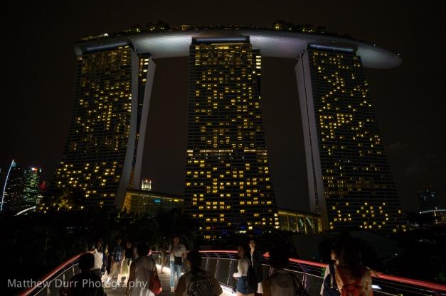 Marina Bay Sands 16mm, ISO 800, f/2.8, 1/30