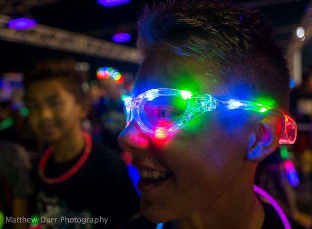 Lights Up 16mm, ISO 400, f/2, 1/25