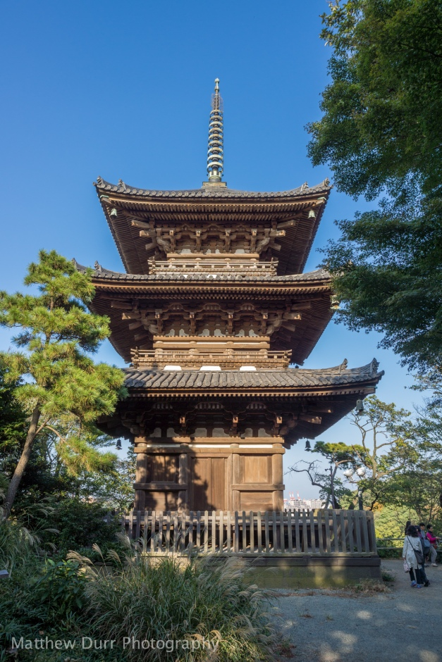 3-Story Pagoda (Oldest in Kanto Region) 16mm, ISO 100, f/5.6, 1/200