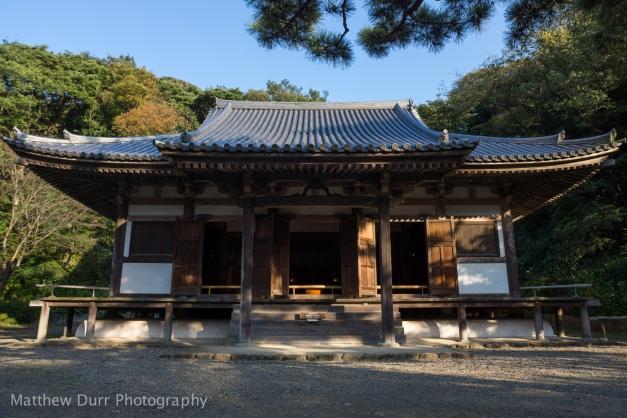 Main Hall of Old Tomyoji 16mm, ISO 100, f/5.6, 1/160