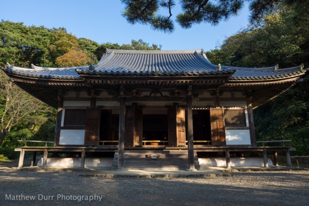 Main Hall of Old Tomyoji 16mm, ISO 100, f/5.6, 1/160