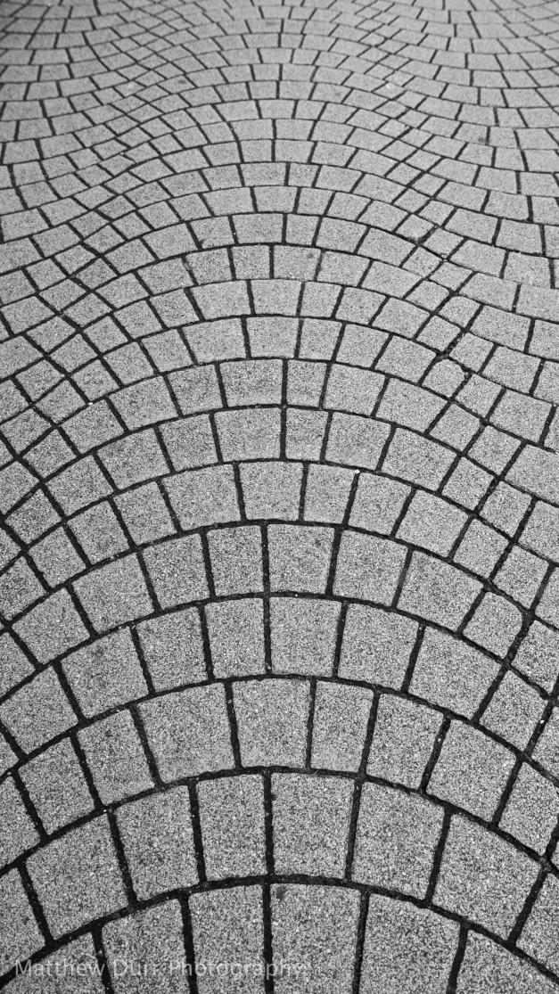 Wavy Sidewalk 16mm, ISO 100, f/8, 1/80