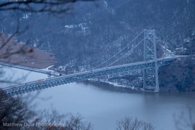 Bear Mountain Bridge 105mm, ISO 100, T3.2, 1/20