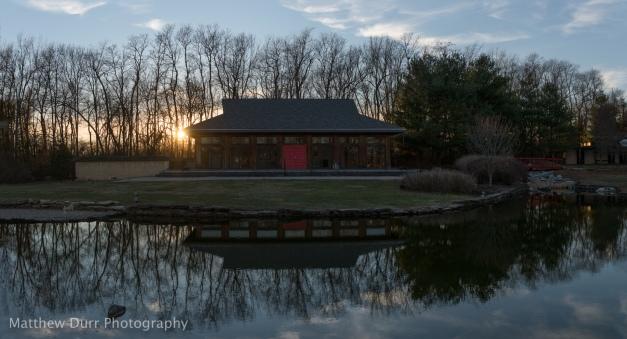 Yuko-En Sunset 32mm, ISO 100, f/5.6, 1/500, 11 images stitched