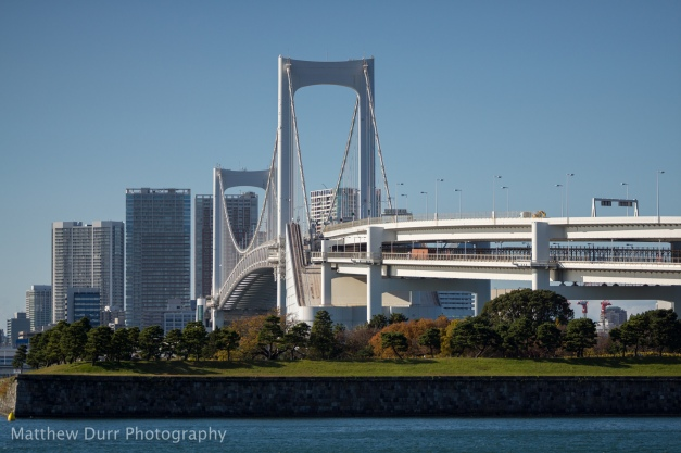 Rainbow Bridge and Bird Island 105mm, ISO 100, T4, 1/4000