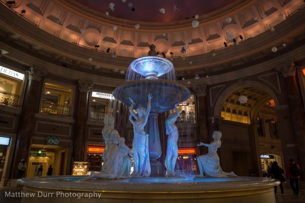 Venus Fountain 16mm, ISO 100, f/4, 1/25