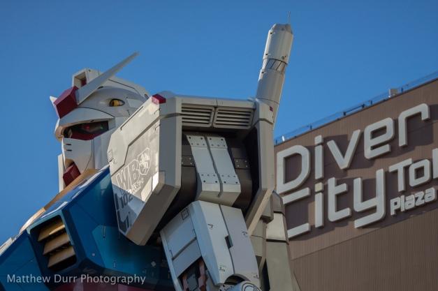 Diver Gundam 105mm, ISO 100, T3.2, 1/2500