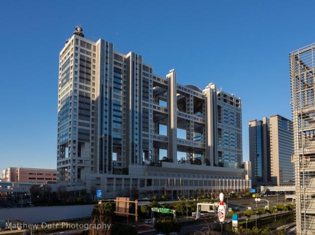 Fuji TV Building 16mm, ISO 100, f/5.6, 1/640