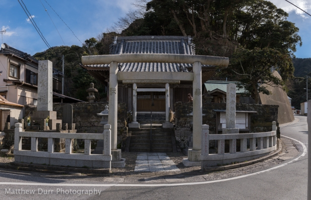Kanaya Shrine 32mm, ISO 100, f/5.6, 1/640, 30 images stitched