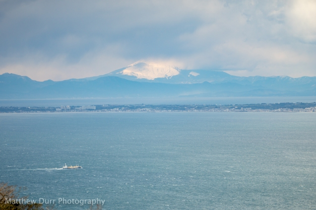 Fuji-san in Hiding 105mm, ISO 100, T5.6, 1/3200