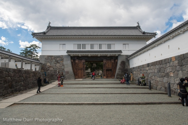 Akagane Gate (and photo ops!) 16mm, ISO 100, f/5.6, 1/2500
