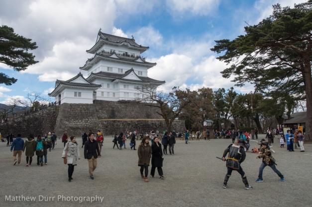 Castle and Samurai Fun 16mm, ISO 100, f/5.6, 1/1000