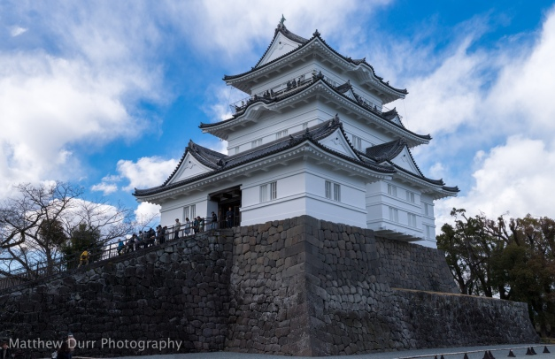 Odawara Castle 32mm, ISO 100, f/5.6, 1/1250, 8 images stitched