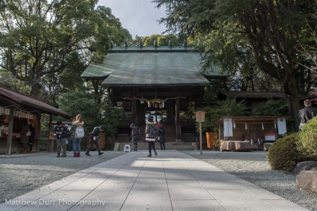 Hotokuninomiya Shrine 16mm, ISO 100, f/5.6, 1/400