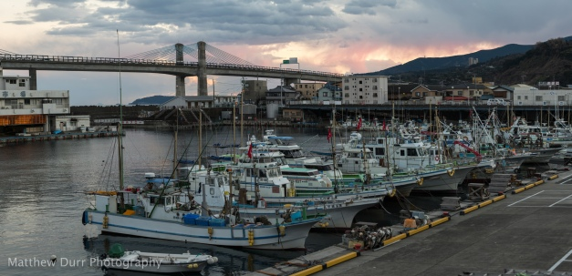 Shipyard Sunset 105mm, ISO 100, T5.6, 1/80, 47 images stitched